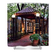 Central Park Boathouse Shower Curtain