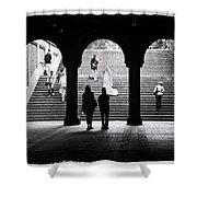 Central Park Bride II Shower Curtain