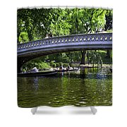 Central Park Day 2 Shower Curtain