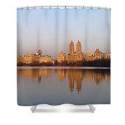 Central Park Daybreak Shower Curtain