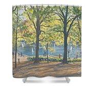 Central Park New York Shower Curtain
