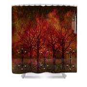 Central Park Ny - Featured Artwork Shower Curtain