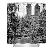 Central Park Shower Curtain