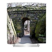 Central Park Underpass Shower Curtain