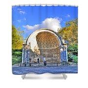 Central Park's Naumburg Bandshell Shower Curtain