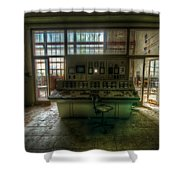 Central Power Shower Curtain