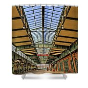 Central Railroad Of New Jersey Crrnj Shower Curtain