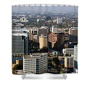 Central San Jose California Shower Curtain