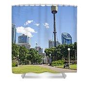 Central Sydney Park In Australia Shower Curtain