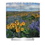 Central Washington Spring Shower Curtain