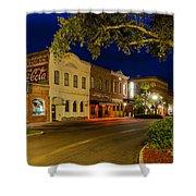 Centre Street Downtown Fernandina Florida Shower Curtain