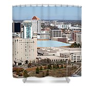Century II Convention Hall And Hyatt Shower Curtain