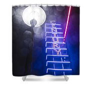 Century Neon Shower Curtain