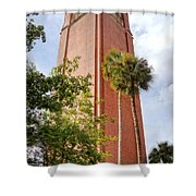 Century Tower Shower Curtain by Joan Carroll