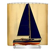 Ceq Black Sails Shower Curtain