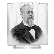Cesare Lombroso Shower Curtain
