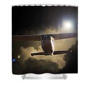 Cessna Fast Light Shower Curtain
