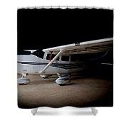 Cessna Waiting Shower Curtain