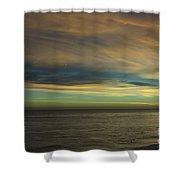 cf 521 A Colorful Storm Shower Curtain