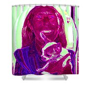 Chachi And Dot Shower Curtain