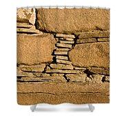 Chaco Bricks Shower Curtain