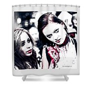Chain Of Disaster Shower Curtain by Stwayne Keubrick