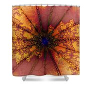 Chain Reaction Shower Curtain