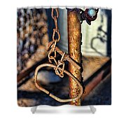 Chained Shower Curtain