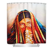 chains of Gold  Shower Curtain