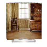 Chair And Cupboard Shower Curtain