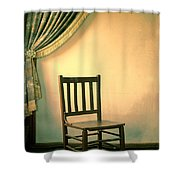 Chair And Curtain Shower Curtain