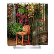 Chair - The Chair Shower Curtain