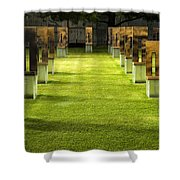 Chairs And Memories Shower Curtain