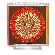 Chakra Mandala With Crystal Stone Healing Energy Plates By Side  Navinjoshi Rights Managed Images Fo Shower Curtain