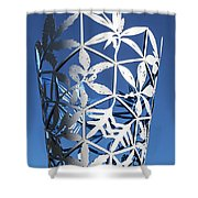 Chalice Sculpture Shower Curtain