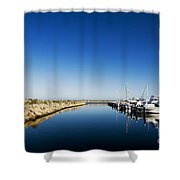 Challenger Harbour Of Fremantle Shower Curtain
