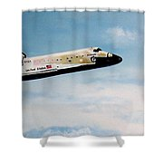 Challenger Shower Curtain