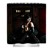 Chamber Of Horror Shower Curtain