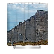 Chambers Bay Architectural Ruins Shower Curtain
