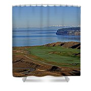 Chambers Bay Golf Course - University Place - Washington Shower Curtain