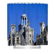 Chambord Chateau  Shower Curtain