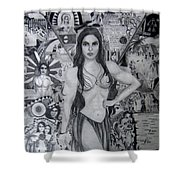 Chamorro Chronology Shower Curtain