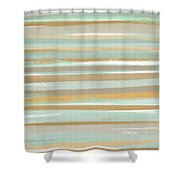 Champagne And Gold Shower Curtain