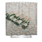 Champagne Cooling Shower Curtain