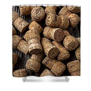 Champagne Corks Shower Curtain