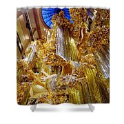 Champagne Dreams Shower Curtain