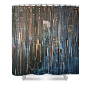 Champagne Nights Shower Curtain