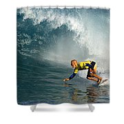 Champion At Pipeline Masters  Shower Curtain