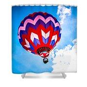 Champion Hot Air Balloon Shower Curtain