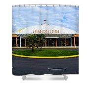 Champions Center Shower Curtain